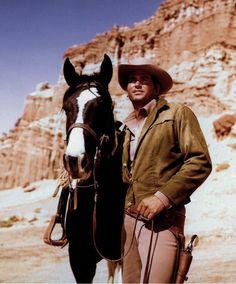 Rare Still TVS Bonanza Cast OFF Camera 9 Close OF Little JOE AND Horse | eBay