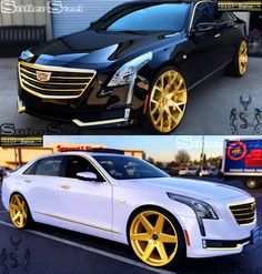 Cadillac Ct6 - Golden Finish (Illustration)  STIFLER STEEL - GOLDEN CONCEPTS  #ct6 #stiflersteel