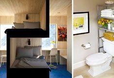 viraI: 22 Space-Saving Ideas to Make Any Small Apartment Feel Cozier Decor, House, Small Apartments, Storage Spaces, Creative Furniture, Home Decor, Small Bedroom, Space Saving, Small Apartment Ideas Space Saving