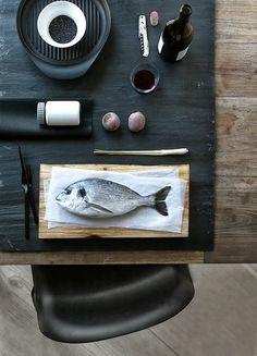 La maison d'Anna G.: Vipp table setting
