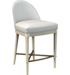 Laurent Counter Stool from the Suzanne Kasler® collection by Hickory Chair Furniture Co.