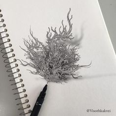 This Artist Takes Doodling To a Ridiculous Level - UltraLinx