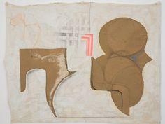 J. Parker Valentine, name: Untitled (calendar movement) date: 2011, dimension: 114x137 cm (medium): Graphite, milk paint, watercolor, ink, paper, cotton, linen