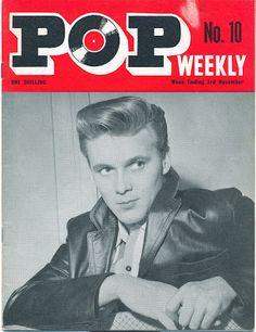 billy fury | billy fury pop weekly n 10 1962 Elvis Presley Pictures, Female Poets, Billy Fury, Music Magazines, Pompadour, Pop, Magazine Covers, Popular, Banana