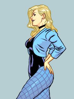 Dinah Lance in Black Canary and Zatanna: Bloodspell