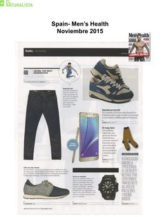 November 15 Men's Health Spain Jeans, Spain, November, Health, Shopping, Image, Fashion, Winter, Sports