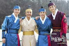 The amazingly good looking and talented child actors from the Moon Embraces the Sun
