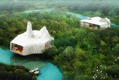 Strange Houses, Weird Houses, Unusual Houses & Homes from Around the World - design:related forums  http://www.inhabitat.com/2009/01/29/bird-island-by-graft-lab/