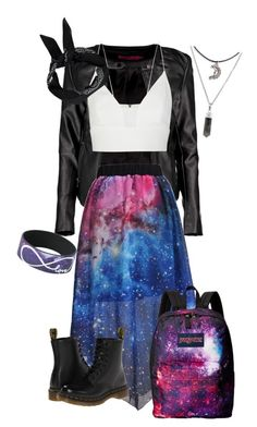"""Matching Backpack - Nebulae"" by colourfulxchaos on Polyvore"