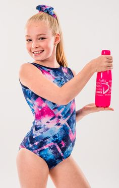 DNA Performance Wear manufactures Canadian made Gymnastics team wear, practice wear, and accessories. Gymnastics Team, Gymnastics Leotards, Team Wear, Dna, Water Bottle, One Piece, Swimwear, How To Wear, Accessories
