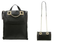 Modepol: Der zwei Handtaschen Trend: klein und groß als Duo...