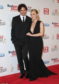 Asher Keddie and Vincent Fantauzzo - Logies 2015