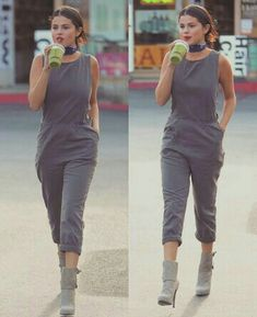 Famous Celebrities, Hollywood Celebrities, Petite Women, Her Style, Selena Gomez, Life Is Good, Love Her, Celebrity Style, Overalls