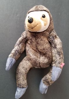 338660fcda8 Slowpoke sloth Ty Beanie Babies w tags plush toy  Ty  Beanie Beanie Babies