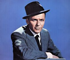 An image of Frank Sinatra, when he was younger