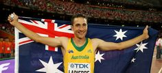 <h5>Fabrice Lapierre World Athletics Championships Beijing 2015</h5> <p>Fabrice Lapierre of Australia celebrates after winning silver in the Men's Long Jump final at the 15th IAAF World Athletics Championships.</p> © 2015 Getty Images