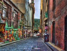 Hosier Lane (re-processed) 2012-03-03 (_MG_3898_899_900_901_902_903) by ajhaysom, via Flickr