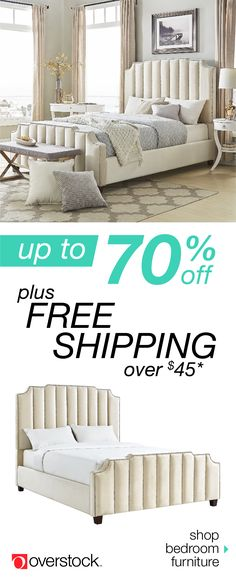 Find the perfect bed for your space at Overstock.com. Shop our selection of bedroom furniture by size, material, color, and style to find the best fit at the lowest price. Plus, enjoy free shipping and easy returns. Overstock.com -- All things home. All for less.