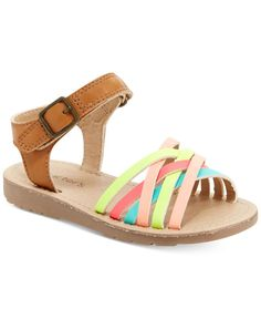 Carter's Verena Strappy Sandals, Toddler Girls (4.5-10.5) & Little Girls (11-3)