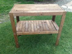 Hand made pallet table.