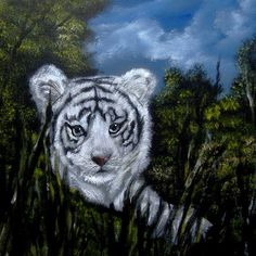 painting of cub Paint By Number Kits, Tiger Cubs, Painting, Animals, Animais, Animales, Animaux, Paintings, Animal