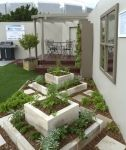 Ideas for the back yard Ideen für den Hinterhof Courtyard Landscaping, Luxury Landscaping, Tropical Landscaping, Front Yard Landscaping, Landscaping Ideas, Tropical Garden Design, Home Garden Design, Vegetable Garden Design, Modern Landscape Design