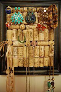 a few wine cork ideas