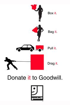 "Goodwill needs your donations to support our mission of building better communities by providing employment, housing, and support to people in South Central Wisconsin with disabilities or other challenges. Whatever ""it"" may be, your donation makes a big difference in the lives of others.     For a list of donation centers and hours, please visit our website: http://www.goodwillscwi.org/donate.php    Thank you for your ongoing support!"