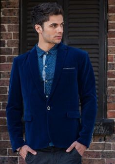 This is a blazer for those who really want to stand out from the crowd and make a statement. We have created an amazing fitting, all season blazer which can be dressed up over a button up shirt and bowtie or over a t shirt and jeans for a more casual look. Available in 3 colours, we know you will turn heads with these vibrant jackets. T Shirt And Jeans, Clothing Co, Blazers For Men, Keep Warm, Blazer Jacket, Casual Looks, Crowd, Button Up Shirts, Vibrant