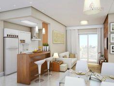 Cozinhas decoradas pequenas e SUPER MODERNAS! (47 Fotos)
