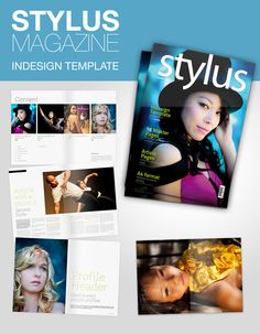 Stylus Magazine InDesign Template