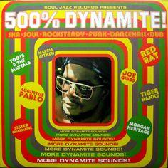Various – 500% Dynamite! Ska, Soul, Rocksteady, Funk and Dub in Jamaica Music Album Compilation Label: Soul Jazz Records – SJR LP55 Series: Dynamite! – 5 Format: 2 × Vinyl, LP, Compilation Country: UK Released: 2001 Genre: Reggae, Funk / Soul Style: Reggae, Dub, Ska, Dancehall, Rocksteady, Soul, Funk Tracklist A1 –Morgan Heritage & Bounty Killer Guns In The Ghetto A2 –Augustus Pablo East Of The River #70s #Dancehall #Dub #Jamaica #Reggae #seventies #Ska