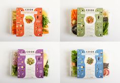 Creative Cook, Stoked, Dr, Big, and Packaging image ideas & inspiration on Designspiration Salad Packaging, Coffee Packaging, Bottle Packaging, Cute Packaging, Brand Packaging, Food Branding, Food Packaging Design, Packaging Design Inspiration, Vegetable Packaging