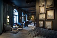 Restaurants and bars of Hotel Adriatic, Rovinj, Istria, Croatia