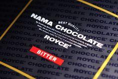 Royce Nama Chocolate Bitter