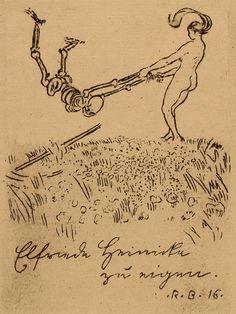 Ex Libris ~ Robert Budzinski 1916