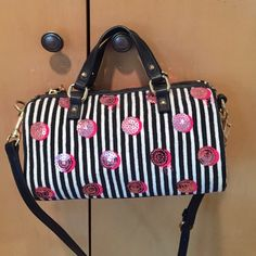 Purse juicy couture NEVER USED New Black white and pink Juicy Couture Bags Crossbody Bags