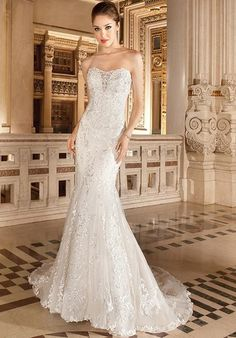 Demetrios 1481 Wedding Dress - The Knot $399.99 Demetrios