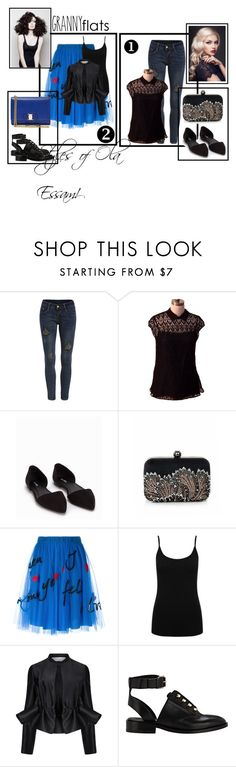 Let's Play it Cool! ;#68 by olaaz-essam on Polyvore featuring Prada, M&Co, Victoria, Victoria Beckham, P.A.R.O.S.H., Nly Shoes, Balenciaga, Salvatore Ferragamo, Angelo and grannyflats