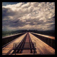 Kinzua Bridge - @donwatkins- #webstagram  my favorite place on earth