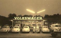 Concesionario VW. USA. Década de 1960