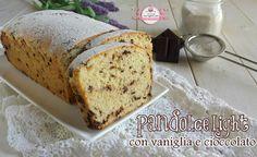 Pandolce light con vaniglia e cioccolato (85 calorie a fetta)