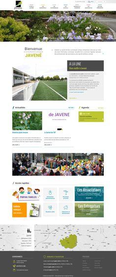 Nouvelle réalisation de l'Equipe Startup pour la mairie de #Javené avec la refonte graphique et ergonomique de leur site internet. Site propulsé par #Emajine. www.mairie-javene.fr Bulletins, Startup, Site Internet, Design, City Office, Portal, Chart