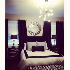 Instagram fan favorite @samiriccioli snapped a photo of her bedroom where our Orbit Chandelier is an attention-grabbing addition.
