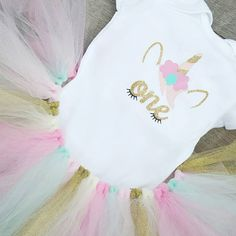 "63 Likes, 4 Comments - Pieces Of My Heart (@piecesofmyheartlh) on Instagram: ""Be Magical, Be Free, Be You in this adorable One Unicorn Birthday outfit! Link in bio . . . . . . .…"""