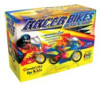 Creativity for Kids Racer Bikes Design Shop paint & style your own models