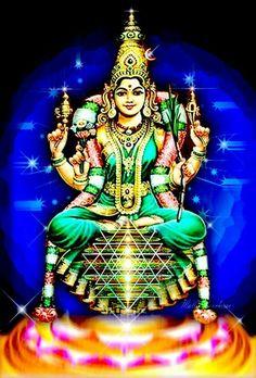Sri Karumari Amman (Parvati/Durga)   ShivaSakthi Family ...