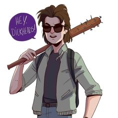 "534 Me gusta, 7 comentarios - nikki (@hettemaudit) en Instagram: ""Babysitter Steve Harrington, to me one of the best things from Stranger Things season 2. Also the…"""