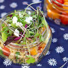 Quinoa BLT salad