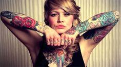 Female Tattoo Body